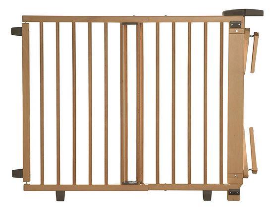 Geuther treppenschutzgitter 2733 aus Holz in Natur-Farbe