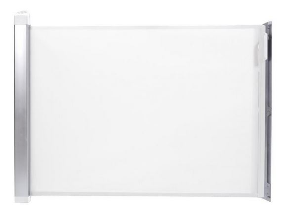 Lascal Kiddyguard Avant Treppenschutzgitter und Rollo in weiß